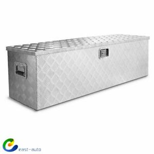 49 X Large Aluminum Tool Box Pickup Truck Storage Underbody Trailer Flat Bed