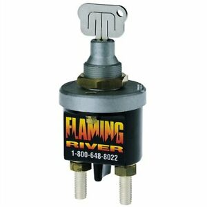 Flaming River Fr1009 Big Switch Battery Disconnect With Removable Key