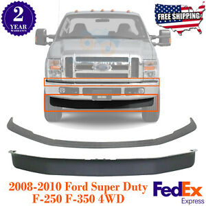front Bumper Molding Lower Valance For 2008 2010 Ford F series Super Duty 4wd