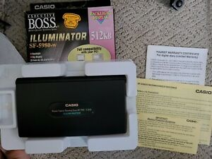 Casio Sf 5980 Business Organizer Scheduling System 512kb Tested And Reset