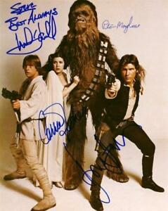 REPRINT STAR WARS Cast Harrison Ford Autographed Signed 8 x 10 Photo Poster RP $9.99