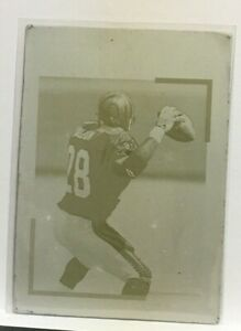 Corey Dillon 2000 Topps Gallery Front Printing Press Plate Magenta #25 (#11) SP $69.28