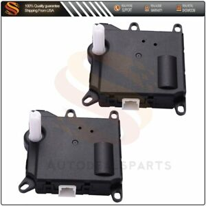 2 Hvac Heater Blend Door Actuator For Ford Expedition 2003 2006 2l2h 19e616 Aa