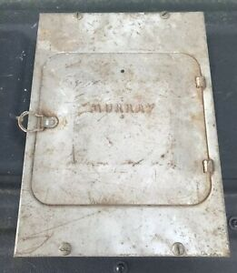 Vintage Murray Electrical Service Panel 74 4 Fuse Box Push Pull