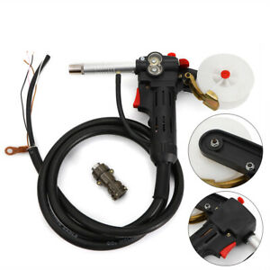 Mig Spool Gun Welding Push Pull Feeder Alu Welding Torch toothed Roller 24v New