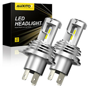 Auxito Led Headlight Bulb Conversion H4 9003 Hb2 Kit High Low Beam 6500k 24000lm