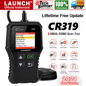 Launch Cr319 Obd2 Can Obdii Auto Car Code Reader Diagnostic Scanner Reset Tool
