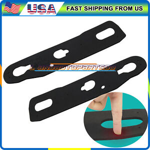1 Pair Silicone Taillight Gasket Gaskets For 1994 2001 Honda Acura Integra 2dr
