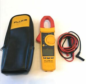 Fluke 337 Trms Clamp Meter With Leads