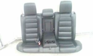 Volkswagen Golf Gti Rear Seats Black Leather Oem 2010 2011 2012 2013 2014