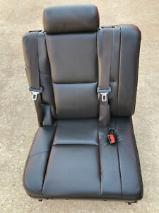 07 14 Escalade Yukon Tahoe Suburban 3rd Row Right Rh Perforated Leather Seat Oem