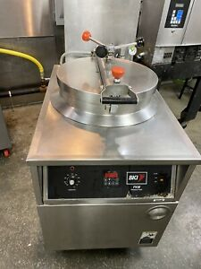 Bki Pressure Fryer Fkm fc Digital Control Filter System electric
