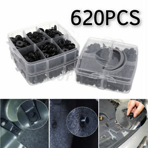 620pcs Set Bumper Clip Plastic Car Fasteners Fender Repair Parts Clips 24 Kinds