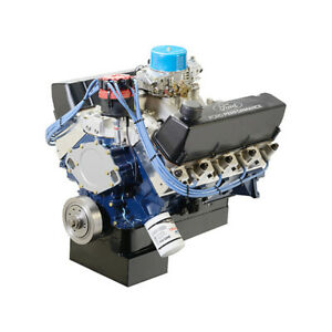 Ford 572 Bbf Crate Engine W Front Sump M 6007 572df