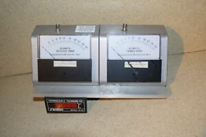 Gerling Laboratories Microwave Power Meters Model Gl204 W Omega Thermometer