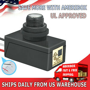 120 277v Led Photocell Dusk To Dawn Outdoor Swivel Cell Light Control Photocell