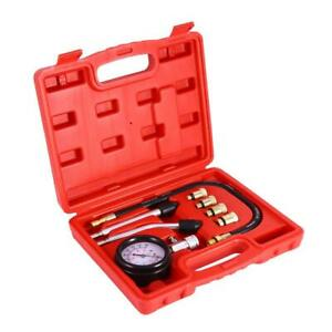 Petrol Engine Compression Tester Test Kit Gauge Car Motorcycle neilsen Ct1865