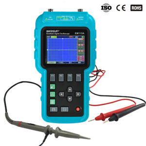 Handheld Oscilloscope Digital Multimeter 3 In 1 Color Dmm 50mhz Single Channel