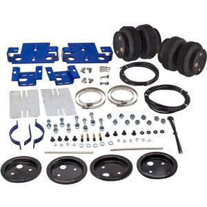 Rear Air Spring Suspension Kit Fit Silverado 2500 Hd 3500 With Bed 2001 2010