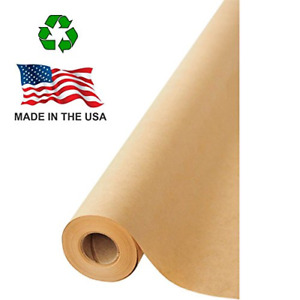 Brown Kraft Paper Jumbo Roll 17 75 X 1200 100ft For Gift Wrapping art craft