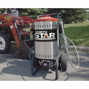 Northstar Electric Wet Steam Hot Water Pressure Washer 2750 Psi 2 5 Gpm 230v