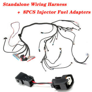 Standalone Wiring Harness W 4l60e Dbc 4 8 5 3 6 0 Fit For 1997 2006 Ls1 Engine