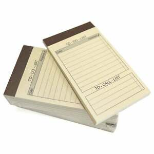 Royce Leather To Do List Refill Note Pads For Royce White