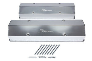 Holley Sniper Fabricated Valve Covers Sbc Tall 890008