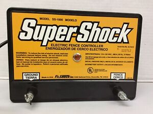 Fi shock 20 Miles Electric Fence Controller ss 1000