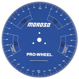 Moroso 62191 Camshaft Degree Wheel 18 Inch Engine Stand Professional Series