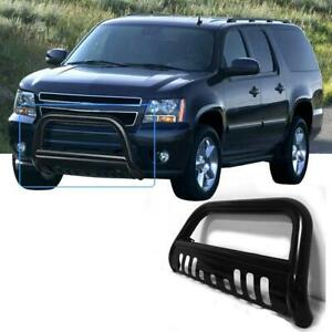 Stainless Bull Bar Brush Bumper Grille Guard For 2008 2013 Chevy Silverado
