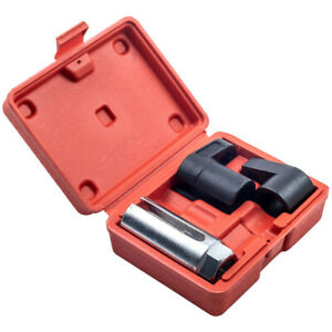 Oxygen Sensor Socket Wrench O2 Remover Installer Hex Vacuum Switch Tool Kit