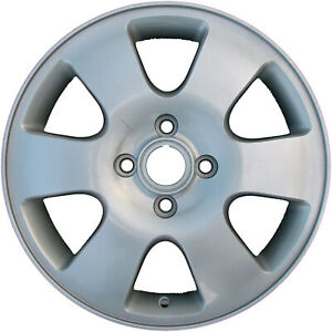 Set Of 4 Original 16 2000 2007 Ford Focus Alloy Wheels Rims Silver Painted 3438