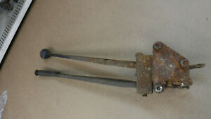 Antique Car Shifter And Hand Brake Mt 5155