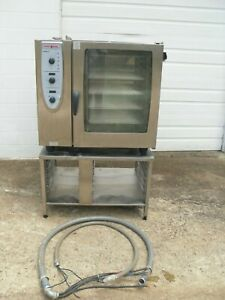 Rational Combimaster Cm 102 Electric Oven With 10 Full Pan Stand