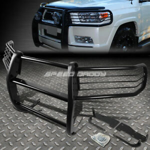 For 10 13 Toyota 4runner N280 Black Coated Mild Steel Front Bumper Grill Guard