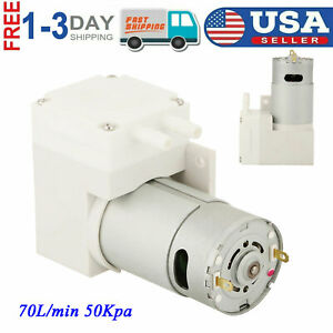 Dc 12v Mini Noiseless Vacuum Pump Negative Pressure Suction Pump 7l min 50kpa