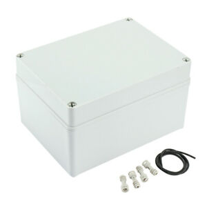 7 9 x5 9 x4 53 abs Dustproof Ip65 Junction Box Electric Project Enclosure
