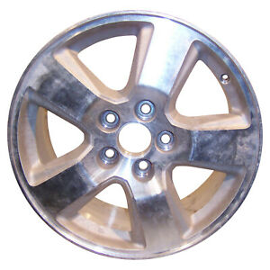 Oem Used 17x7 5 Alloy Wheel Medium Sparkle Charcoal W machined Face 63992