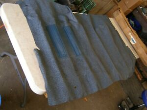 Nos Oem Ford 1973 1979 Ranchero Rubber Floor Mat Blue 1974 1975 1976 1977 1978