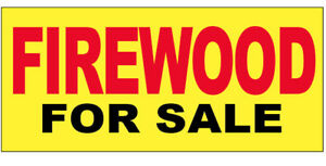 Firewood For Sale Vinyl Banner Sign 2x8 Ft Yb