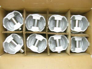 040 Engine Piston Set Of Eight 8 For Small Block Chevy 350
