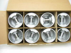 040 Engine Piston Set Of 8 Eight For Various 70 74 Buick 455 V8