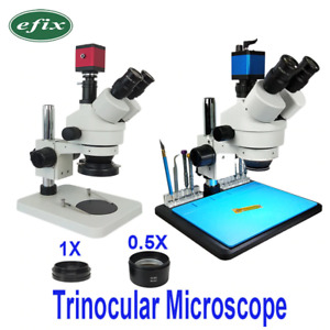3 5 45x 13mp Hdmi Vga 22mp Usb Tf Hd Trinocular Stereo Repair Microscope Digita