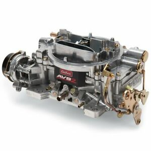 Edelbrock 1903 Avs2 Carburetor 500 Cfm Electric Choke Dual Quad Applications Squ