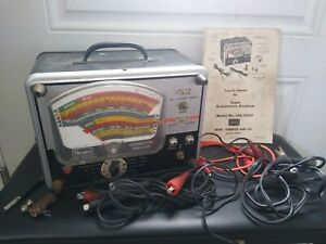 Vintage Sears Automotive Analyzer Model 244 21032 W Manual Cables