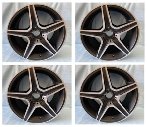 4pc 18 Sport Wheels Tires Fit Mercedes Benz Amg C Clk Slk Coupe Sedan Rims New