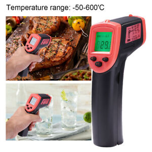 Non contact Ir Laser Infrared Digital Temperature Thermometer Gun Pyrometers Hot