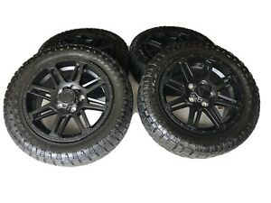 20 Toyota Tundra 2019 2020 Tss Trd Oem Black Wheels And Tires Duratrac A T Used