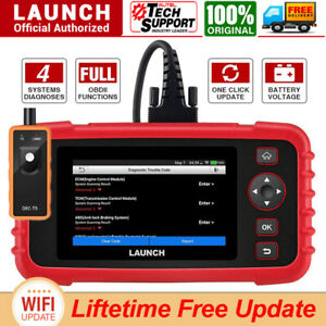 Launch Code Reader Crp123x Obd2 Scanner Engine Transmission Abs Srs Diagnostic
